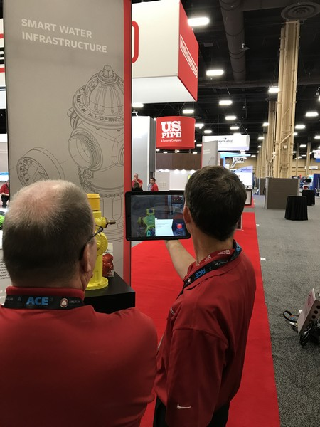 Augmented Reality at Trade Show
