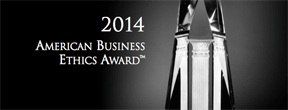 2014 American Business Ethics Award
