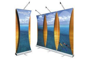Knoxville Banner Stand Display