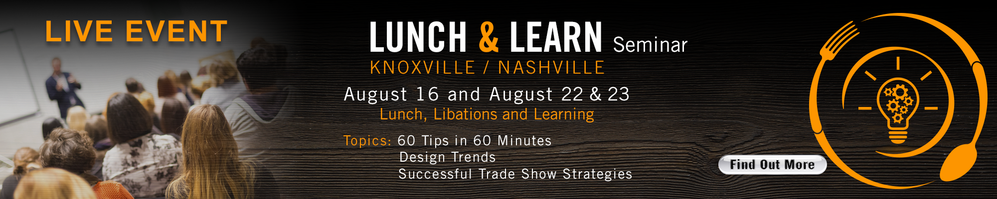 Lunch and Learn 2018-1