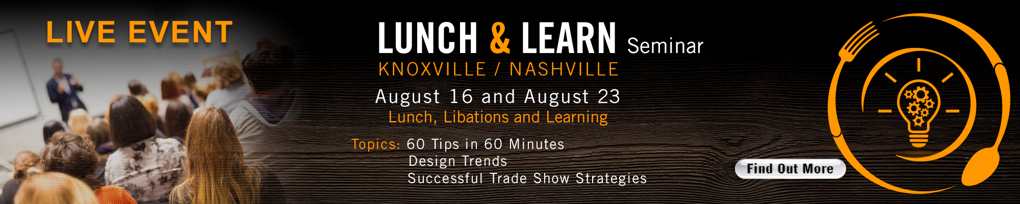 Taste What's Possible Lunch and Learn