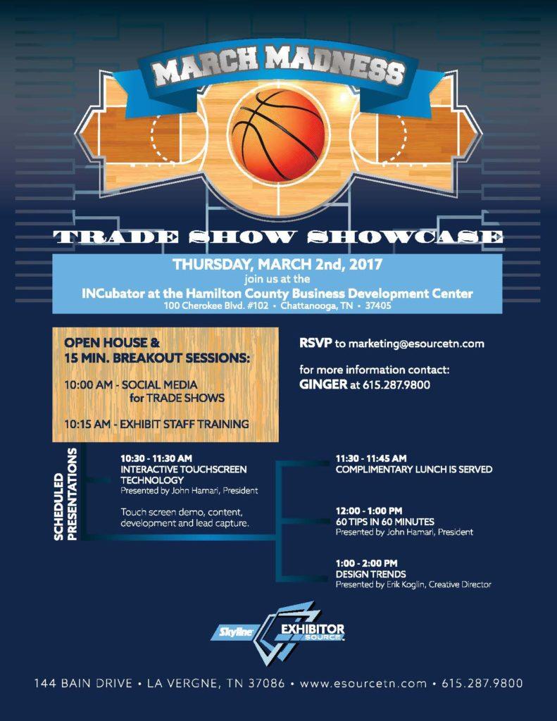 Trade Show Marketing Showcase & Seminar in Chattanooga!
